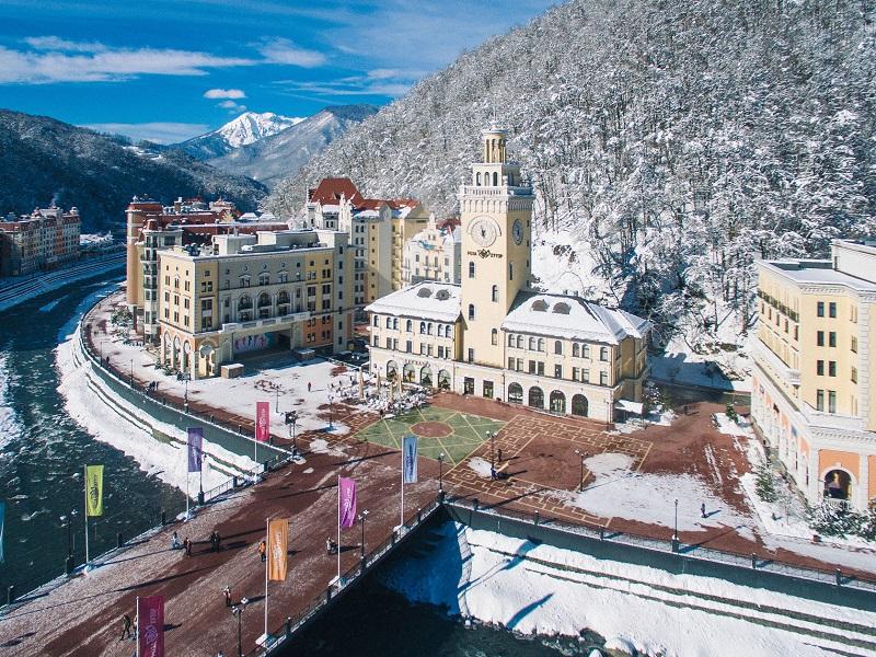 россия горнолыжные курорты