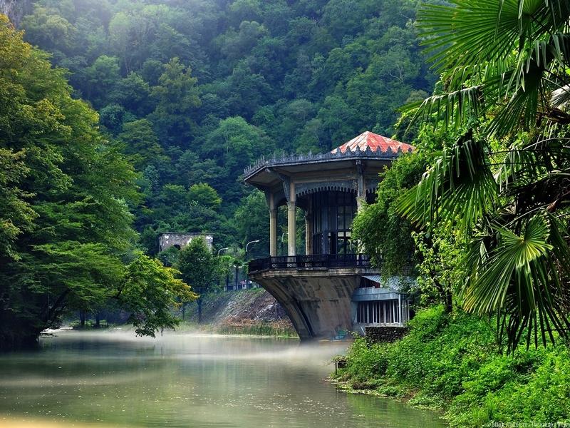 красота природы абхазии